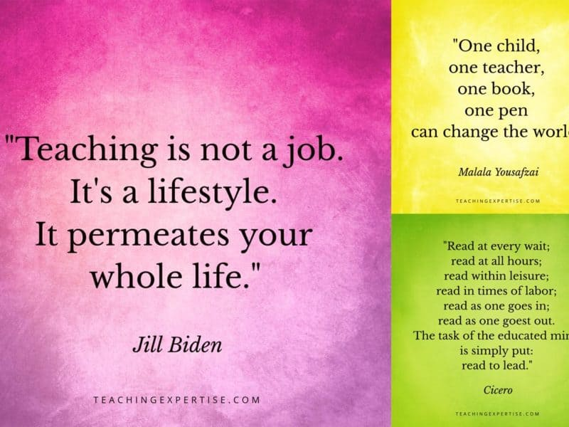 best inspirational quotes for teachers