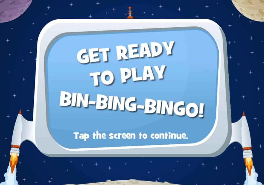 bing bing bingo